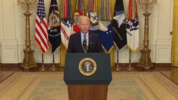 President Biden on the Drawdown of U.S. Forces in Afghanistan
