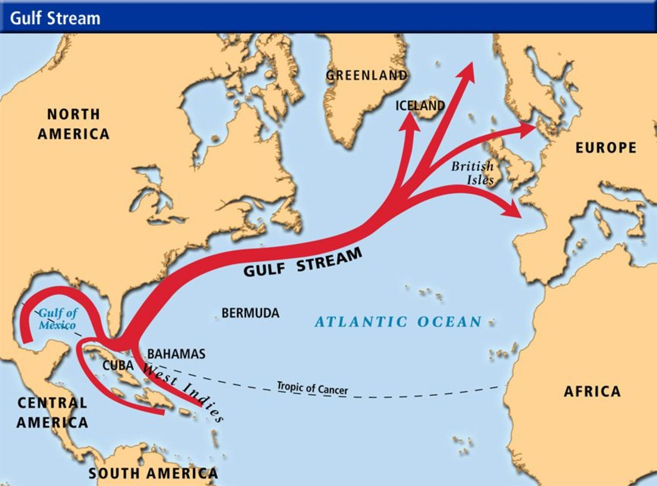 The Gulf Stream And Its Influence On Iceland S Climate