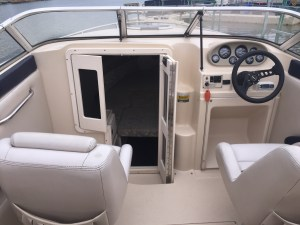 Inside New Cabin Cruiser Boat