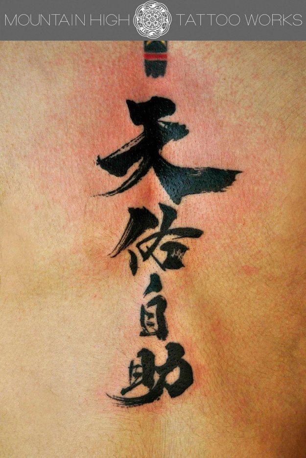 漢字タトゥーのコピー