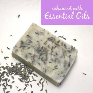 Enhanced Moisturizing Lavender Buds Bar Soap
