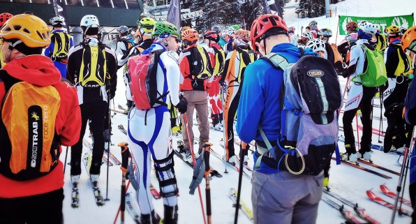 Start corral for the individual race.