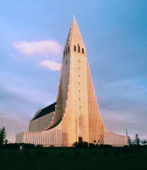 Church, Reykjavik, Iceland.