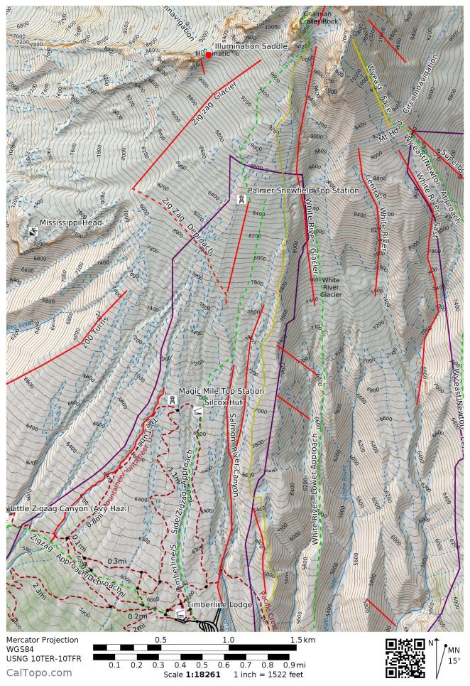Palmer and Zigzag Map Image