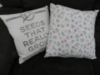 Feed Sack Pillows