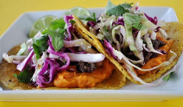 cilantro-cabbage-slaw-vegetarian-tacos