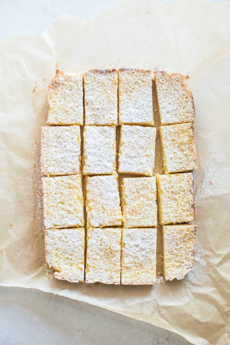 Meyer Lemon Bars with a Coconut Crust - Mountain Mama Cooks