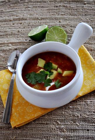 lentil-rice-mexican-soup