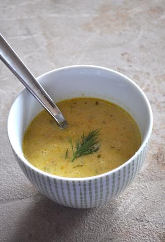 carrot-leek-soup