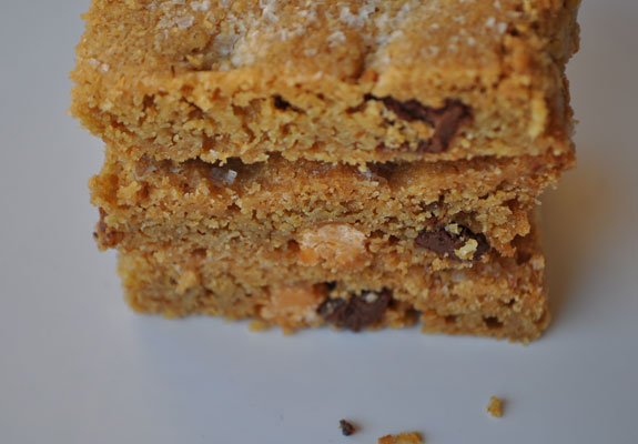 butterscotch-salted-blondies