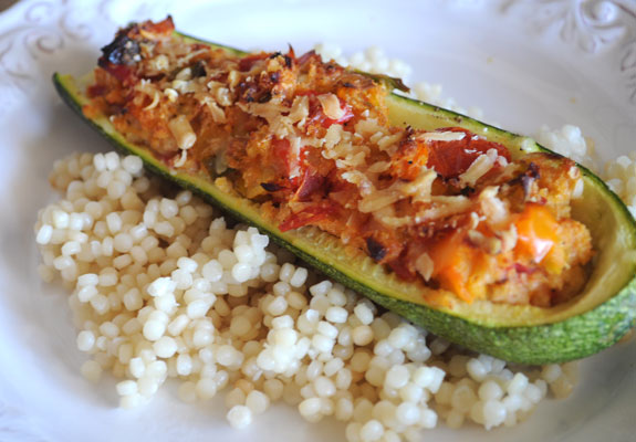 summer-vegetable-stuffed-zucchini