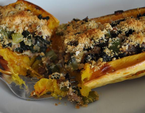 kale-turkey-sausage-stuffed-delicata-squash-recipe-1