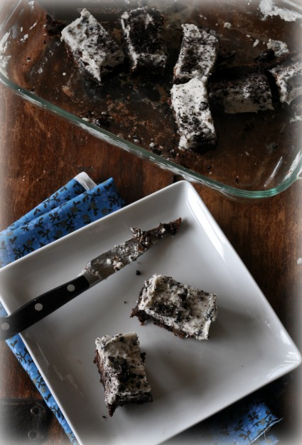 brownies-with-oreo-frosting