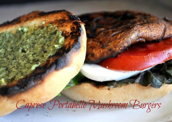 grilled-caprese-portabello-mushroom-burger
