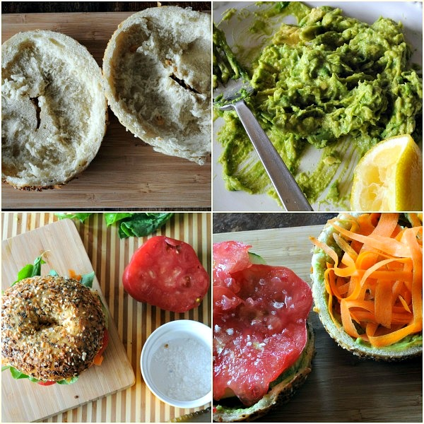 Building-veggie-bagel-sandwich-mountainmamacooks