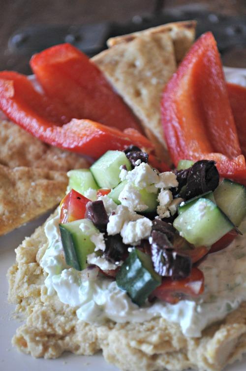 Greek 7 Layer Dip, Mountain Mama Cooks