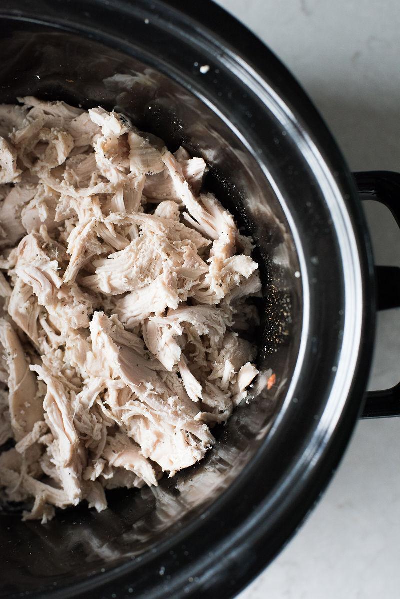 All,Purpose Slow Cooker Shredded Chicken