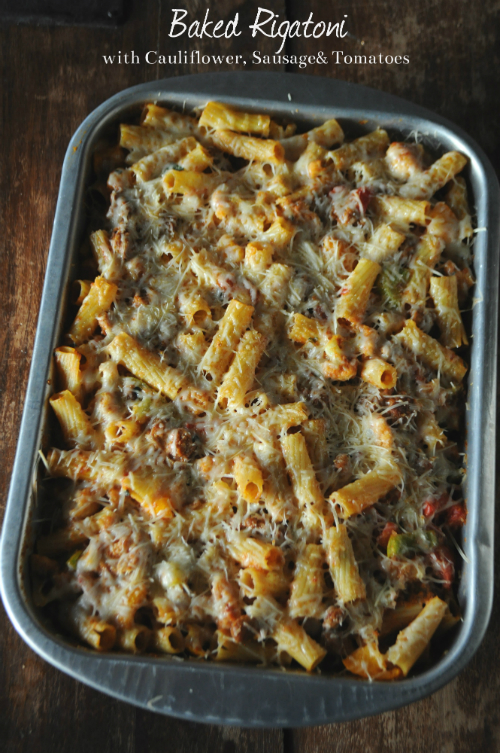Comforting Baked Rigatoni Dish, www.mountainmamacooks.com