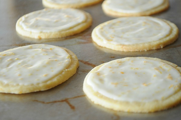 Orange Butter Cookies and Glaze, www.mountainmamacooks.com