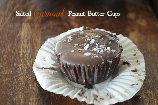 Salted Caramel Peanut Butter Cups, www.mountainmamacooks.com
