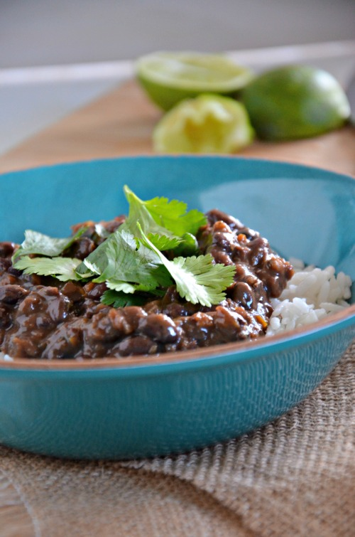 15 minute cuban black beans, www.mountainmamacooks.com