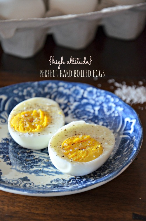 Cooking hard boiled eggs at high altitude, www.mountainmamacooks.com