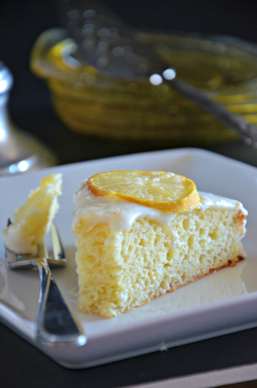 Meyer Lemon Greek Yogurt Cake