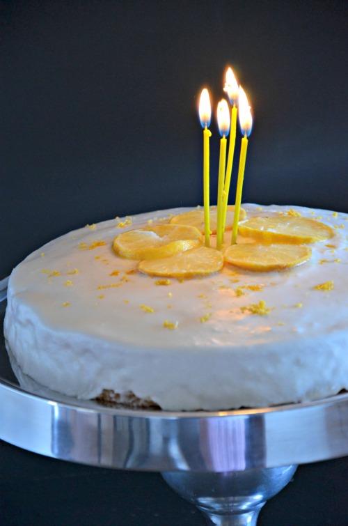 Meyer Lemon Cake With Greek Yogurt Mountain Mama Cooks