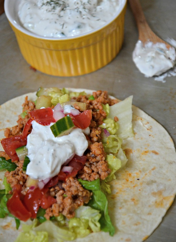 Greek Tacos, www.mountainmamacooks.com