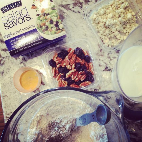 Delallo Salad Savors in Drop Biscuit Recipe