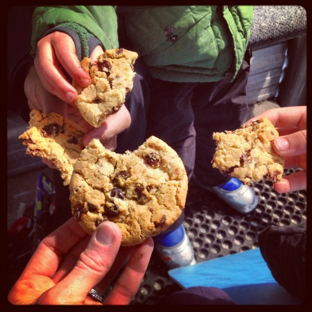 Fresh Chocolate Chip Cookies at Beaver Creek | mountainmamacooks.com #TheGoods