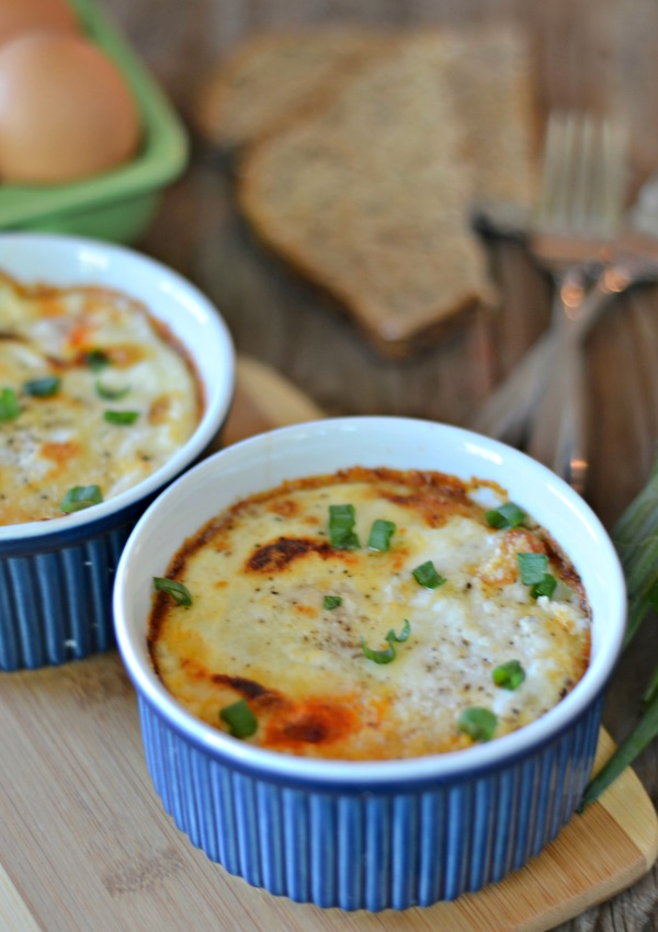 Baked Eggs | mountainmamacooks.com