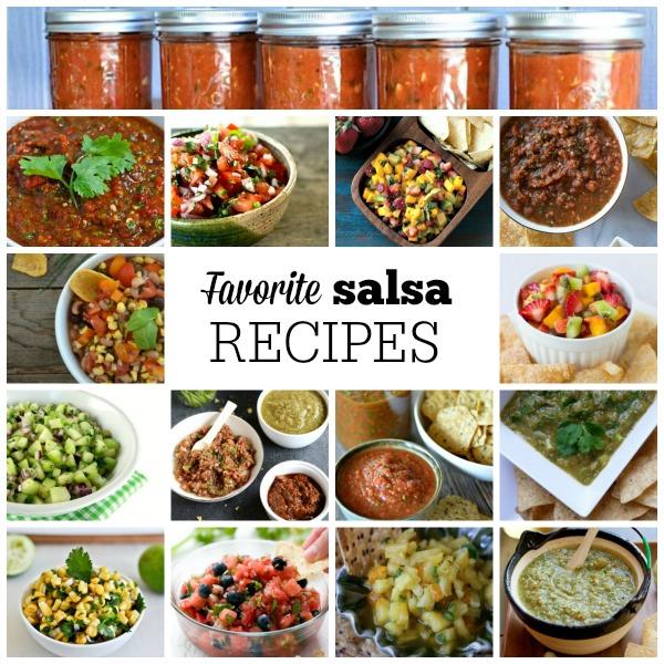 Favorite Salsa Recipe | mountainmamacooks.com #TacoTuesday