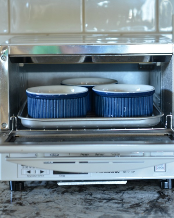 Baked Eggs + Panasonic FlashXpress Toaster Oven giveaway