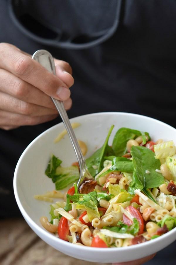 Pasta Salad de Maison   mountainmamacooks.com