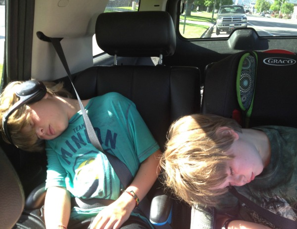 tired boys | The Goods | mountainmamacooks.com