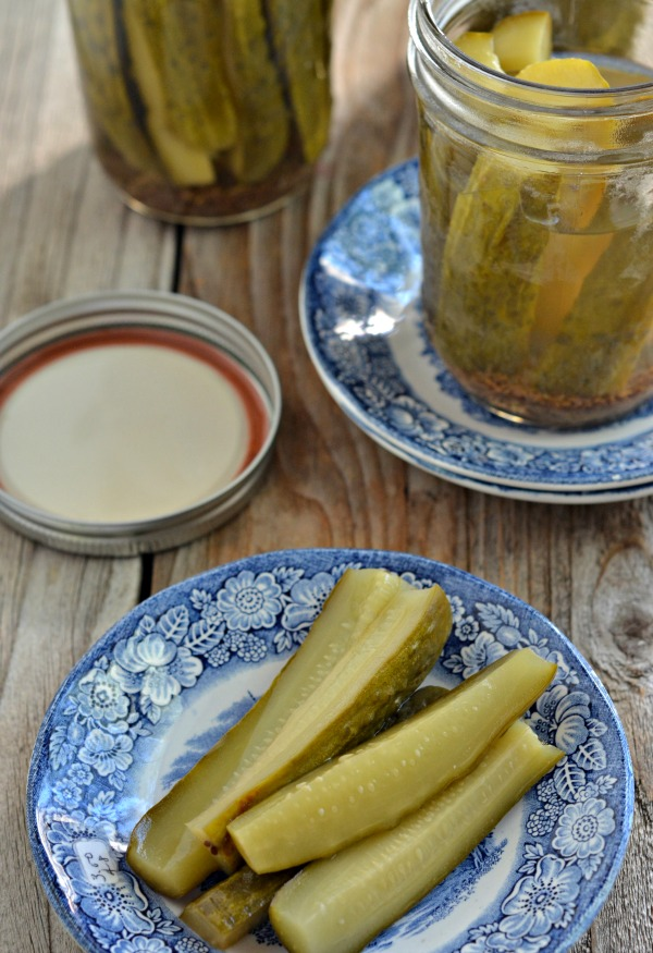 Perfect Dill Pickles | mountainmamacooks.com #canningweek14
