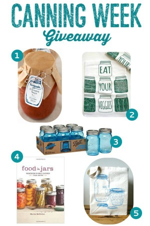 Canning Week Giveaway | mountainmamacooks.com #canningweek14