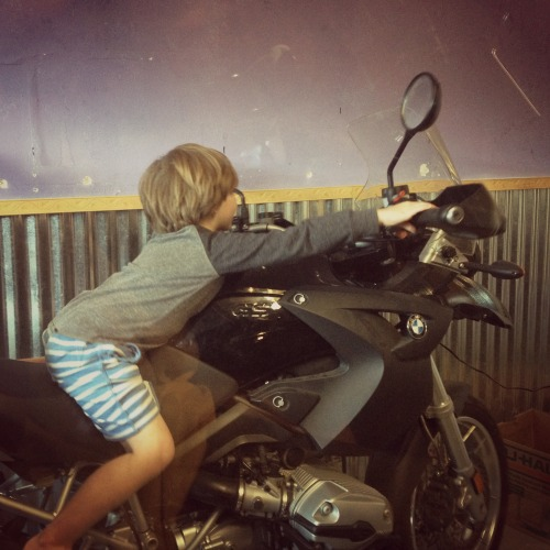 riding-daddy's-bike-the-goods