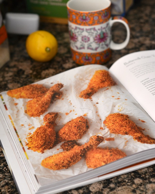 "Buttermilk Oven ""Fried"" Chicken + Skinntaste Cookbook Giveaway 