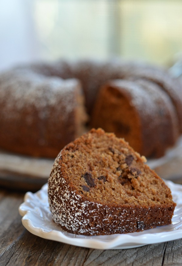 Apple Sauce Spiced Bundt Cake | mountainmamacooks.com