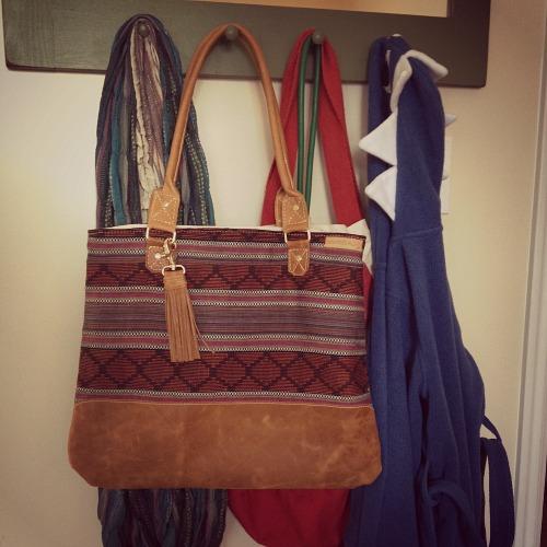 An early Christmas gift to myself: A custom Better Life Bag.