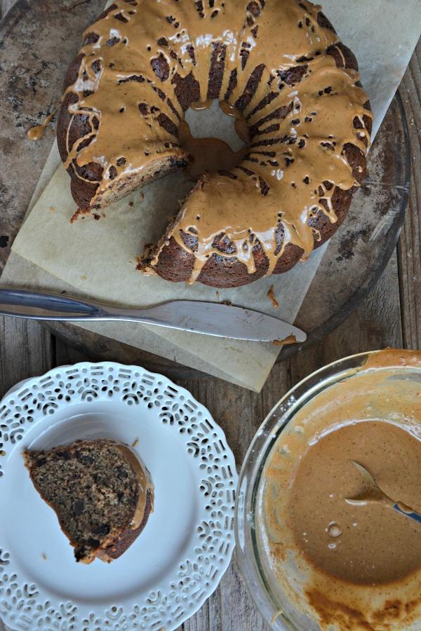 Espresso Brown Butter Banana Bundt Cake   mountainmamacooks.com