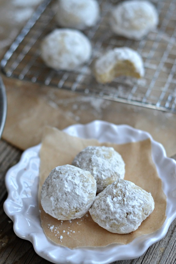 White Chocolate Citrus Snowballs | mountainmamacooks.com