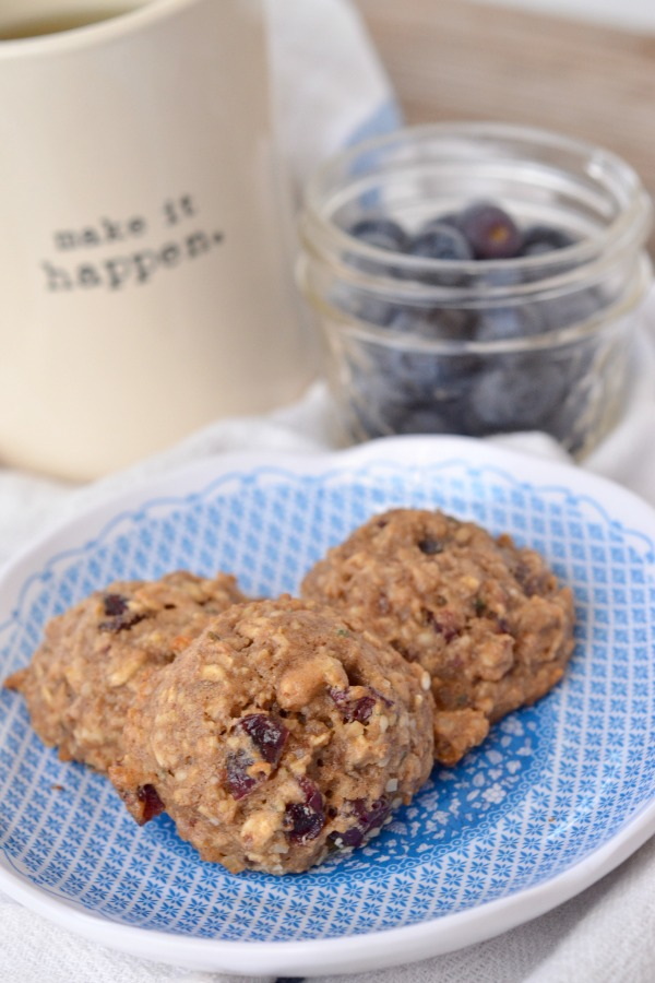 Gluten Free Breakfast Cookies | mountainmamacooks.com