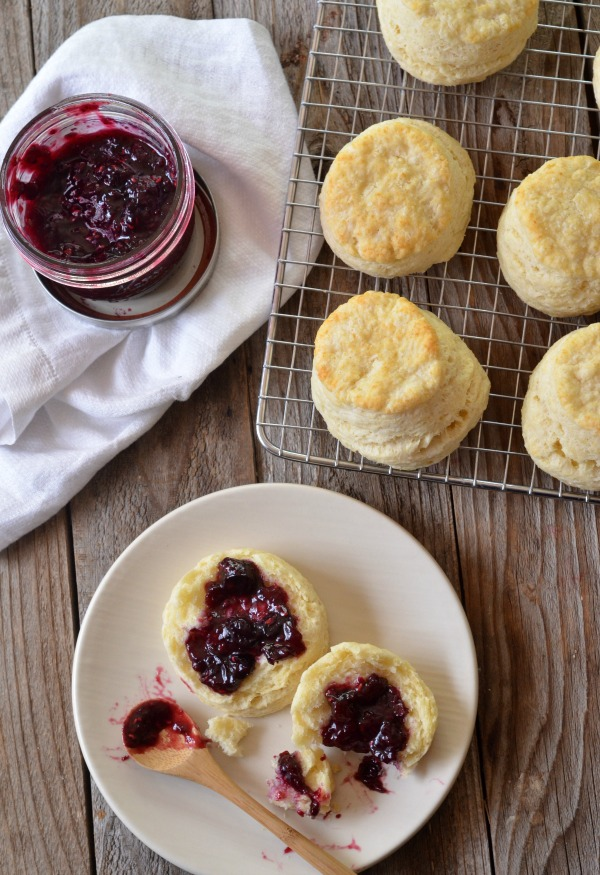 High Altitude Biscuit Recipe | mountainmamacooks.com
