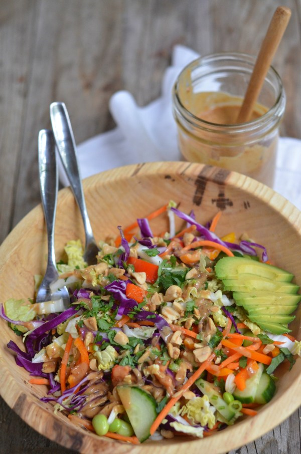 Thai Crunch Salad   mountainmamacooks.com