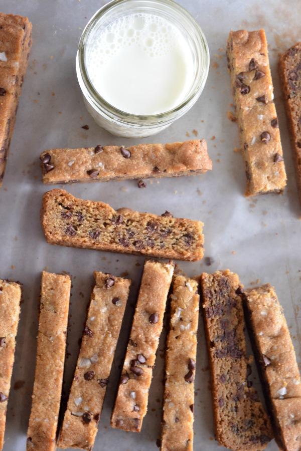 Chocolate Chip Cookie Sticks | mountainmamacooks.com
