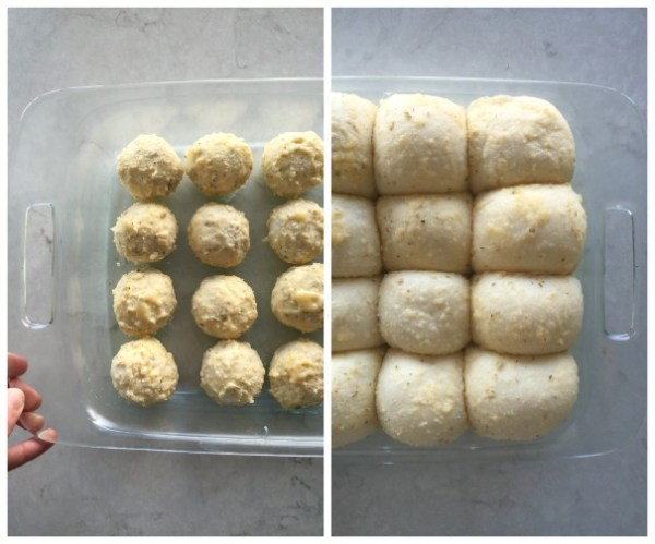 Garlic Parmesan Rolls | mountainmamacooks.com