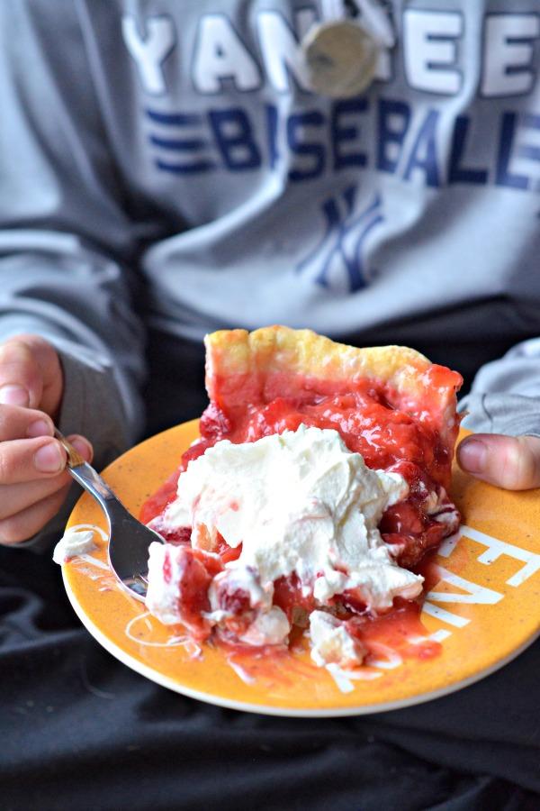 Strawberry Pie | mountainmamacooks.com
